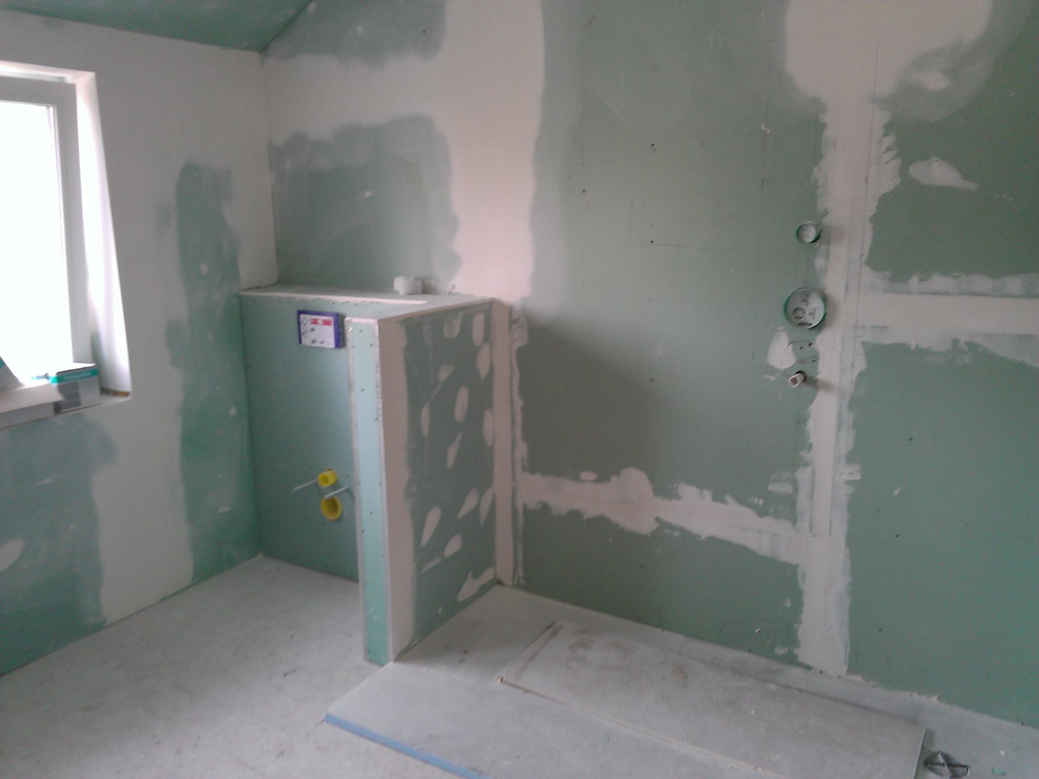 Dachgeschossausbau, Hier Das Badezimmer